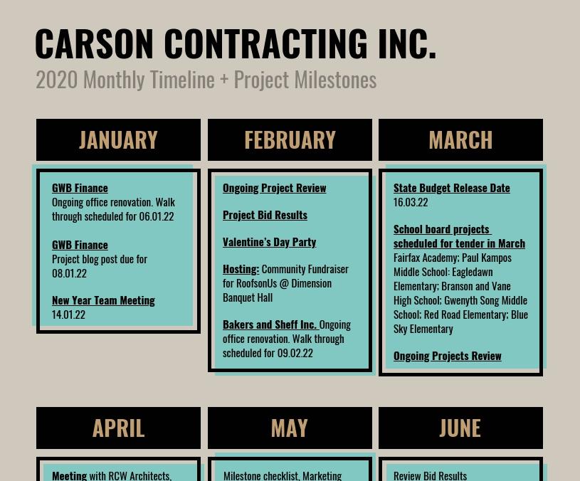 Calendar-Timeline-Infographic