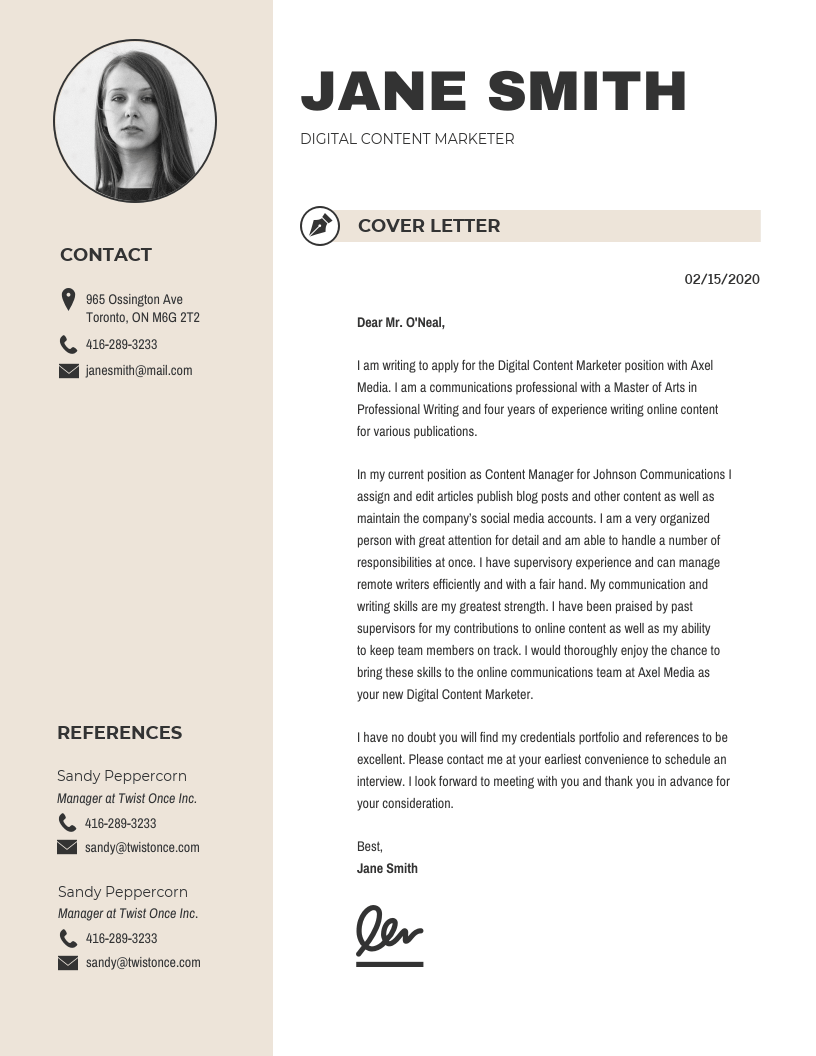 Trendy-Cover-Letter-Template