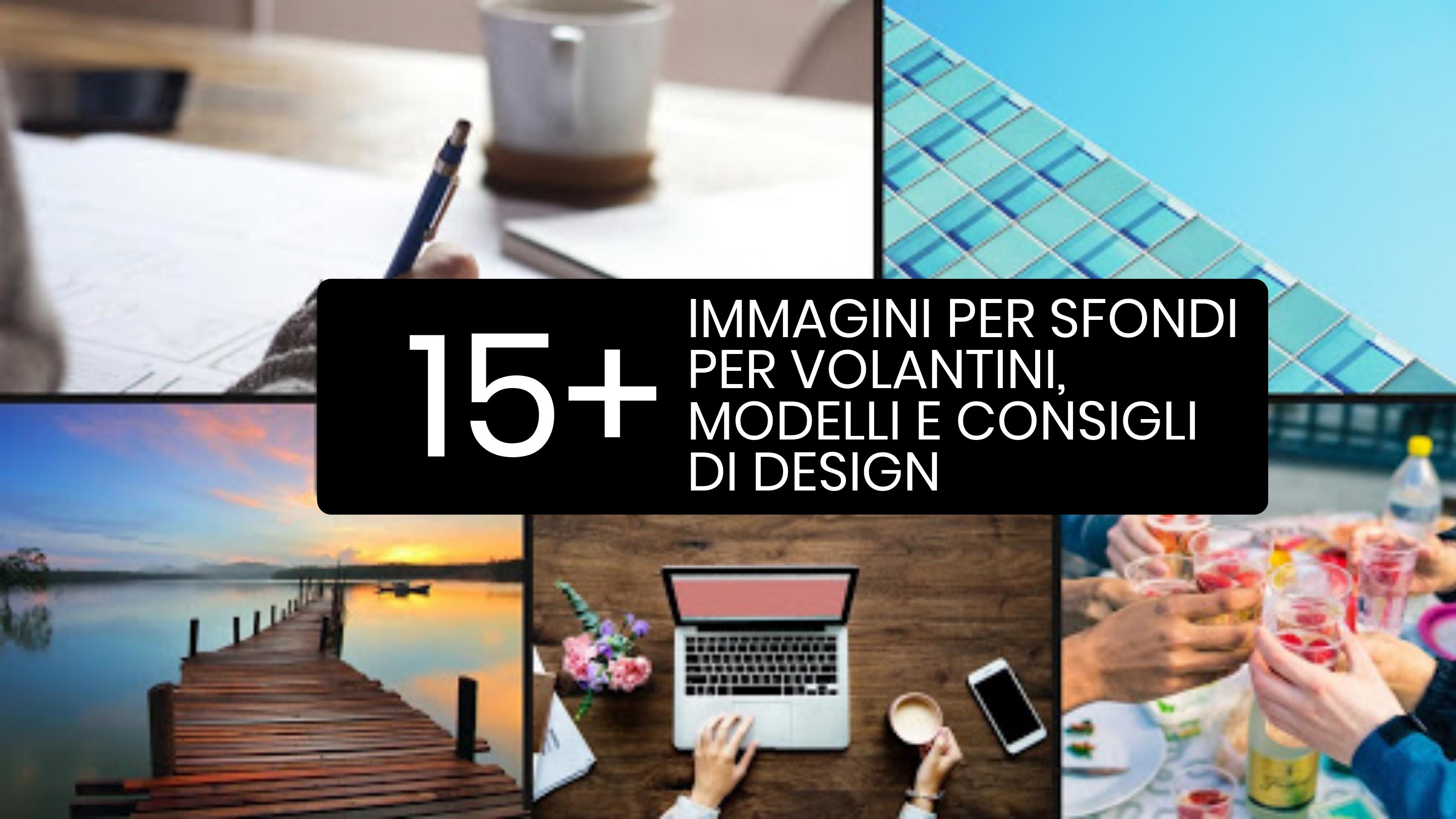 15 Immagini, modelli e consigli di design per sfondi per volantini versatili
