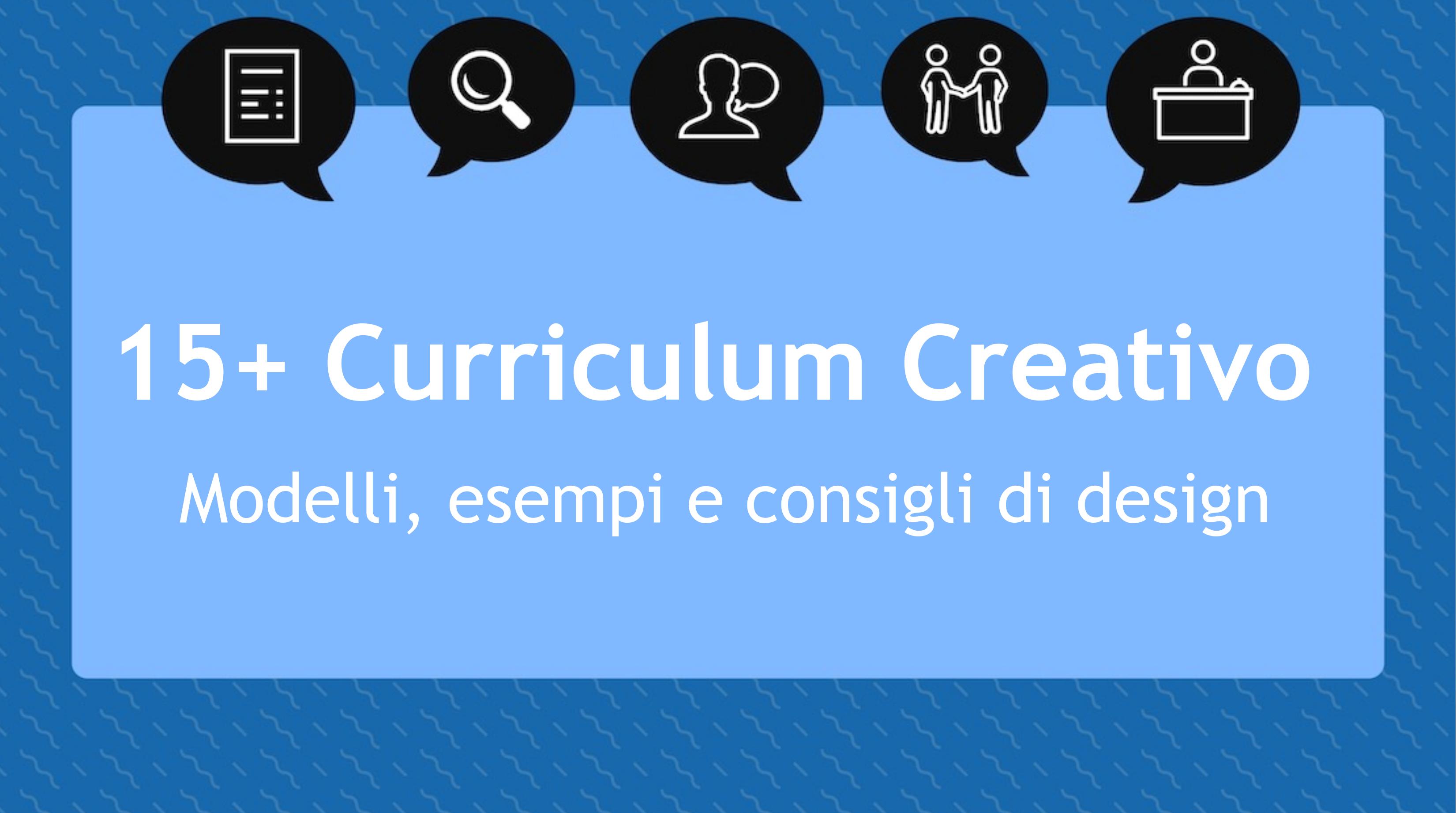 Curriculum creativo 15+ modelli, esempi e consigli di design