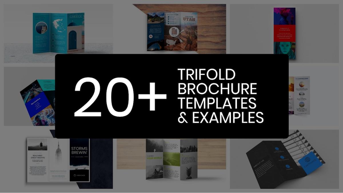 20 modelli, consigli ed esempi di brochure a tre ante professionali