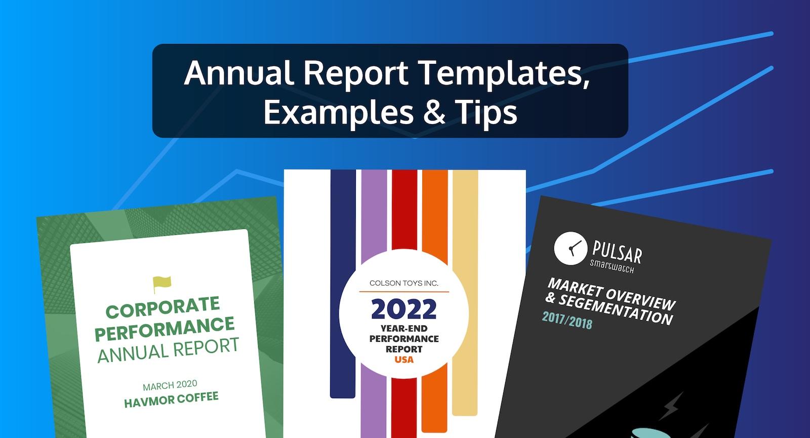 50 modelli personalizzabili, esempi e consigli per una relazione annuale